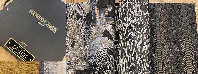 Nieuw behang Roberto Cavalli